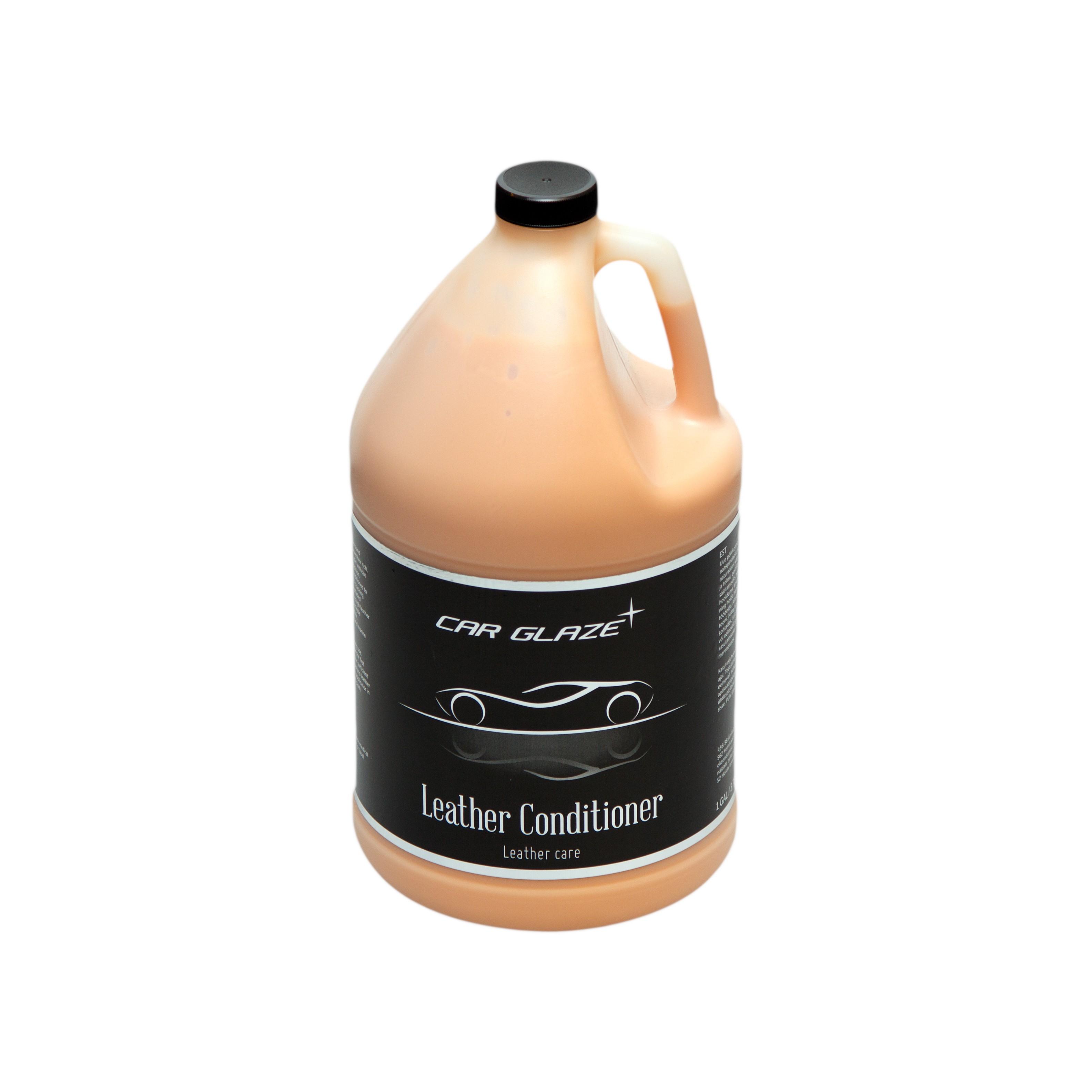 LEATHER CONDITIONER - Car Glaze - täiustatud retseptiga sügavniisutav nahakreem - nahavaha - naha pehmendaja - nahataastaja