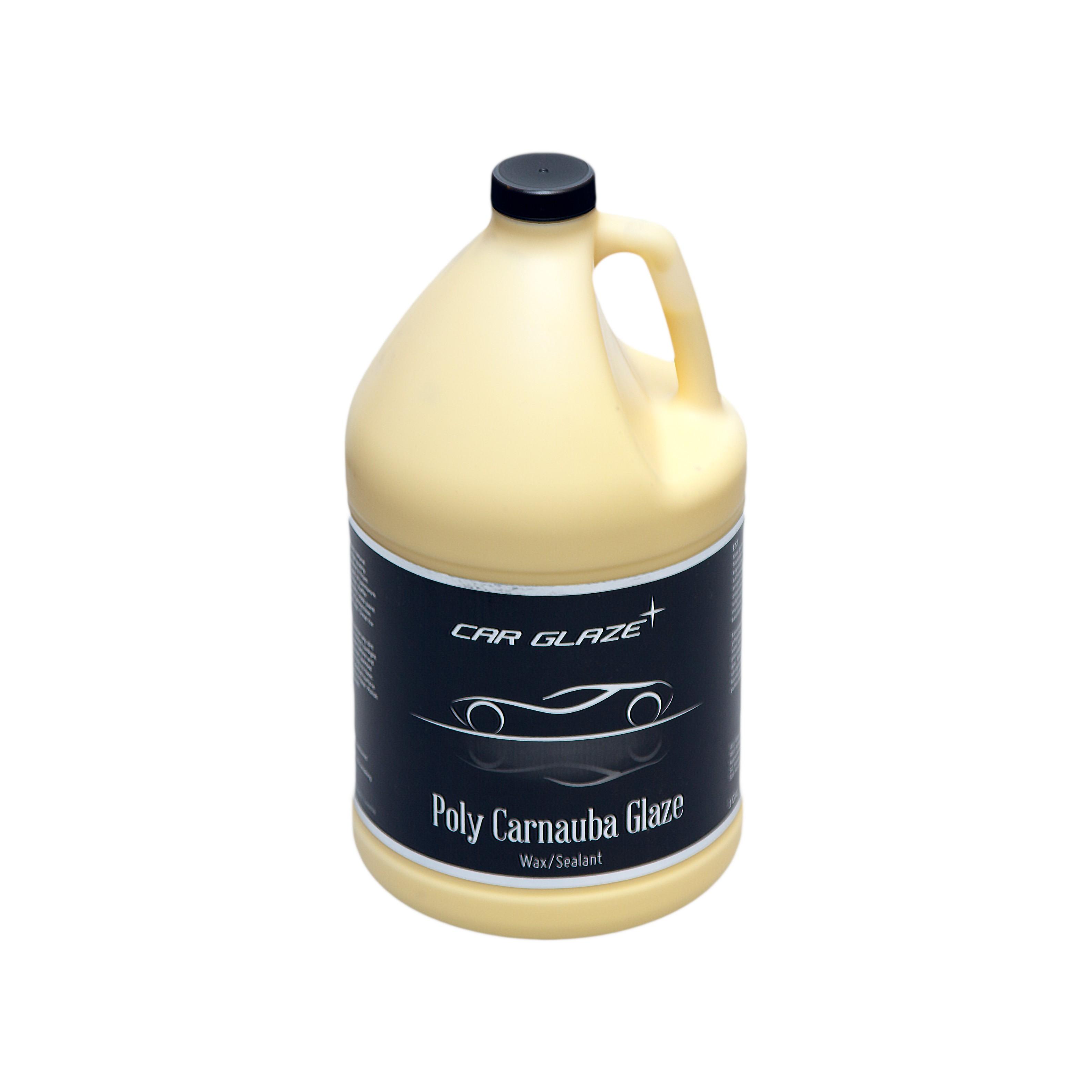 POLY CARNAUBA GLAZE - Car Glaze - polümeervaha ja karnaubavaha baasil püsivaha - kaitsevaha - pinnakaitse