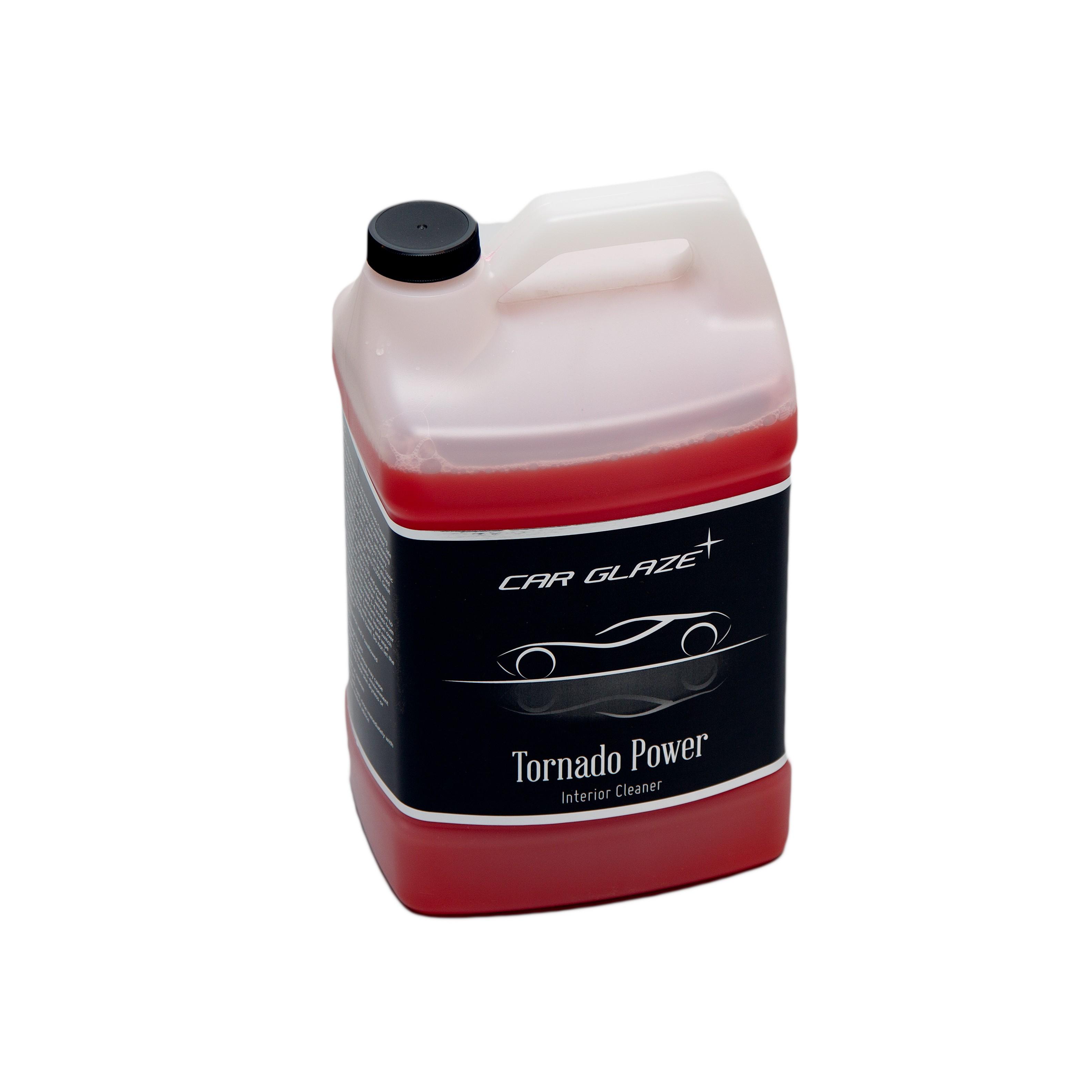 TORNADO POWER  - Car Glaze -  Tornadori spetsiaalvedelik salongipindade puhastamiseks - auto keemiline puhastus