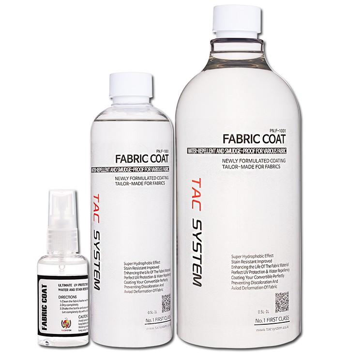 Fabric Coat -  TacSystem - tekstiilikeraamika- kabrioleti katuse keraamika