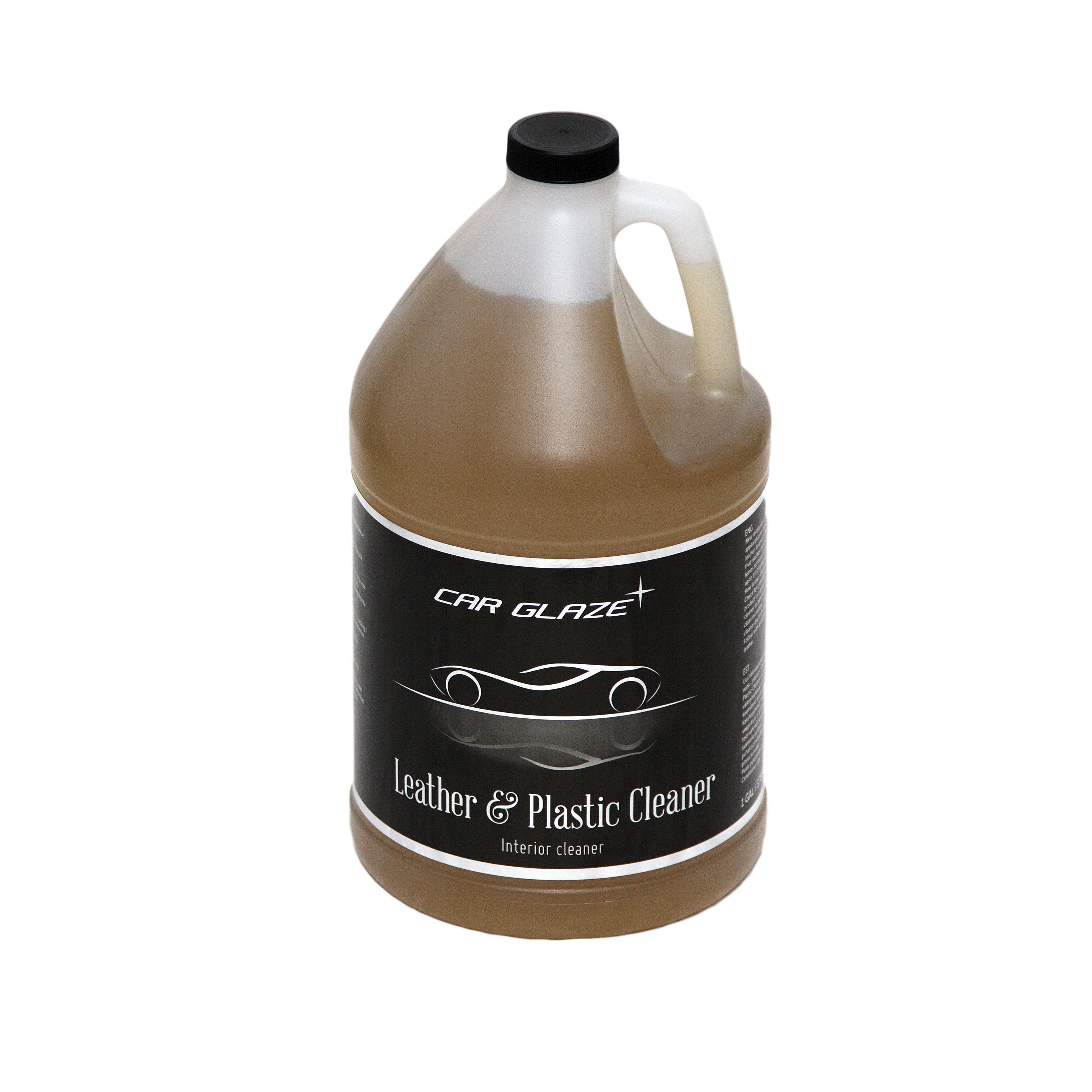 LEATHER & PLASTIC CLEANER - Car Glaze - naha ja plastiku puhastaja - nahapuhastusvahend - nahapuhastaja