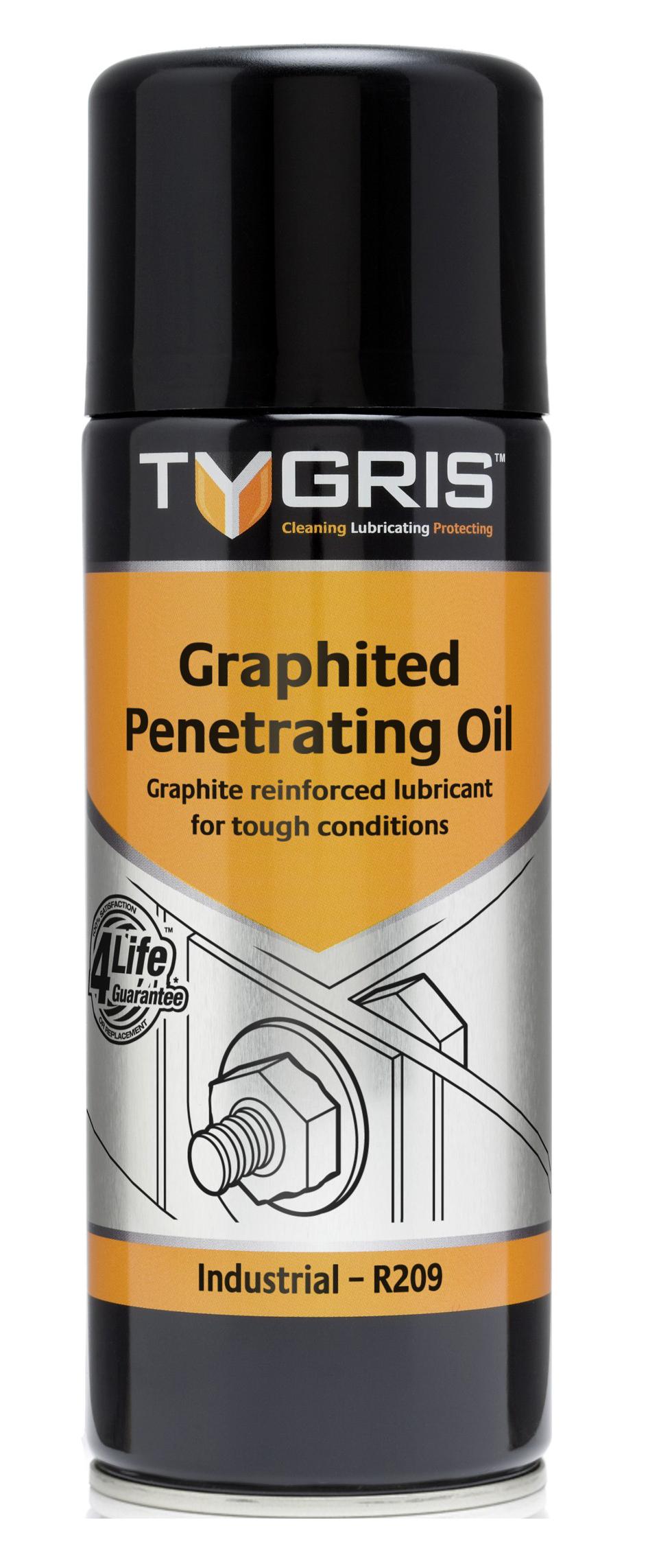 Tygris Graphited Penetrating Oil - grafiiitmääre keerme avamiseks 400ml