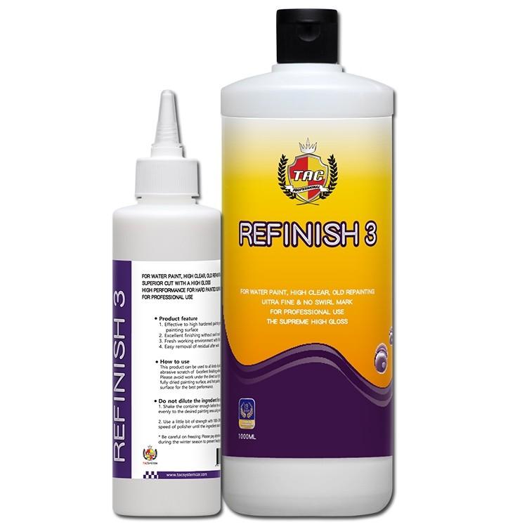 Refinish 3 - Super Fine Polish - TacSystem - 250ml - lõppviimistluspasta