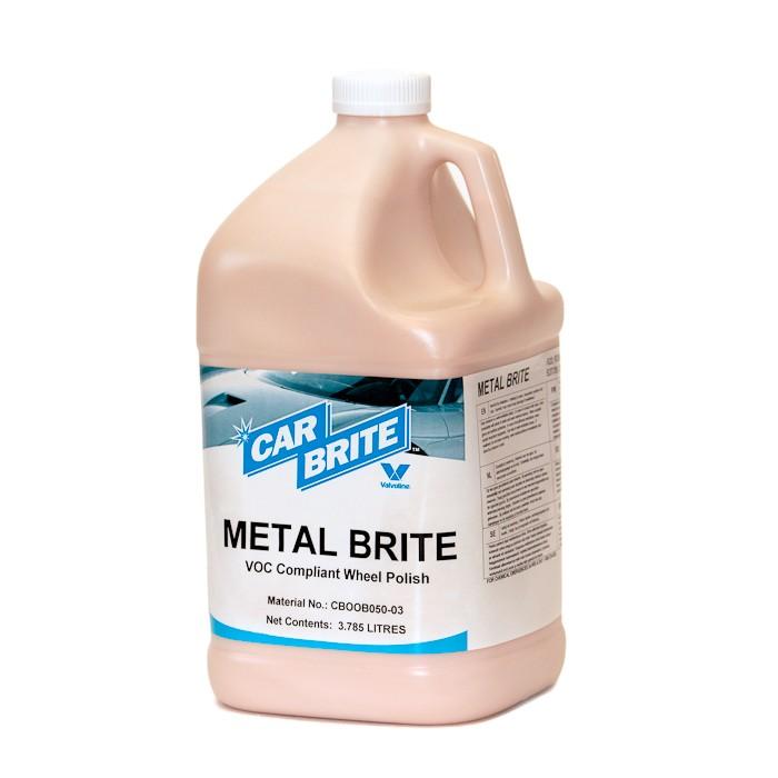 METAL BRITE - kroomi, alumiiniumi, magneesiumi, roostevaba terase ja plastklaasi puhastaja