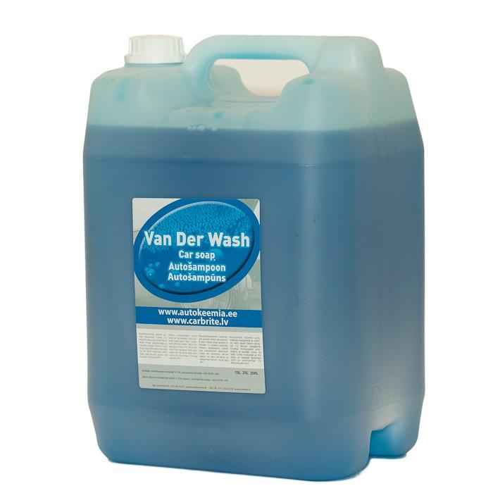 VAN DER WASH  - tugeva vahuga käsipesušampoon