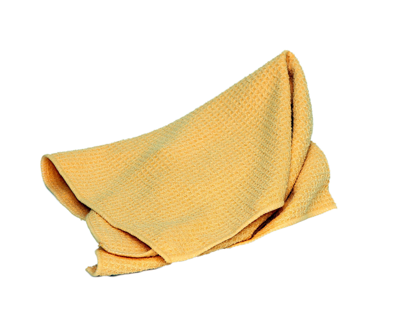 KUIVATUSLAPP MIKROFIIBER - Car Glaze - kollane sünteetiline vahvellapp - water mangnet