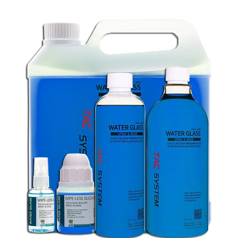 Water Glass - Spray & Rinse Sio2 - TacSystem - märg keraamika- kiirkeraamika - reload