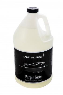 PURPLE FORCE - Car Glaze - de-ironizer - lendrooste eemaldi - neutraalne veljepuhastaja