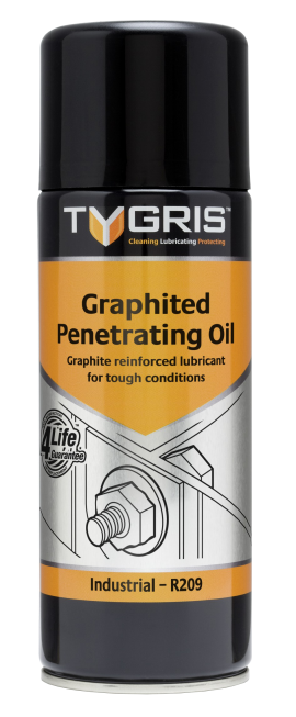 Tygris Graphited Penetrating Oil - grafiiitmääre keerme avamiseks 400ml