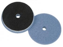Poleerimisketas ekstsentrik HDO Lake Country/Car Glaze - sinine/valge poroloon (1. etapp tugev poleerimine/lõikamine 16,5cm, 6,5``)