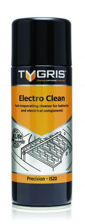 Tygris Electro Clean  IS 20  – чистящее и защитное средство для электрических устройств, клемм и т.п., 400 мл