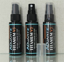 TITANIUM V3 - AQuartz - керамическое титановое средство для защиты поверхности (топовый слой) - керамический воск