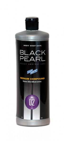 BLACK PEARL - 02 - Medium Compound - среднеабразивная полировальная паста
