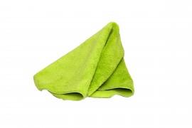 Микрофибра Ultrafine, чистящая салфетка светло-зеленая - салфетка из микроволокна 40x60 см 450 г/м²